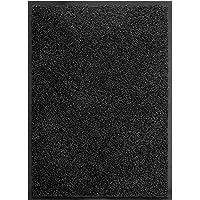 TrendMakers Machine Washable Doormat Super Absorbent Cotton Mats PVC Backing Non Slip Barrier Mat Dirt Trapper Mats…