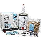BNKR BEER | Brew&Share | Kit para Hacer Cerveza Blond Bio con Certificado Ecológico | Tu Cerveza en 2 semanas. Elaboración co