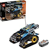 LEGO 42095 Technic RC stunt racer Speelgoed, 2-in-1 raceauto model met powerfuncties motorbouwset, Racevoertuigen collectie