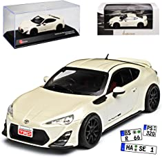 alles-meine.de GmbH Toyota GT86 TRD Performance Satin Pear Weiss Ab 2012 1/43 Kyosho J-Collection Modell Auto
