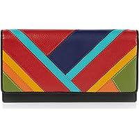 Visconti ® Portafoglio Donna Vera Pelle con protezione RFID Porta Carte di Credito con Portamonete Borsellino Portafogli…