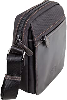 f5d4b4394332 Francinel sac bandoulière en nylon garni cuir réf 653105 + CADEAU SURPRISE