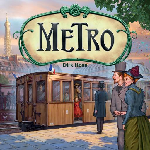 Metro - das Brettspiel -