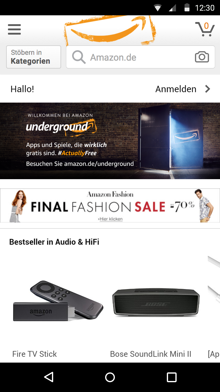 Amazon Underground Screenshot