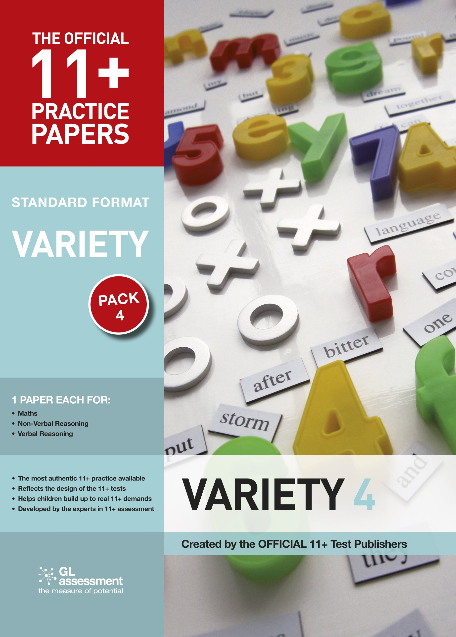 11+ Practice Papers Standard Variety Pack 4