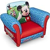 Mickey Mouse Kindersessel mit Holzrahmen (Rot/Blau)