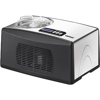 UNOLD Eismaschine Cortina, mit Kompressor, 1,5 Liter Eiscreme, 48806