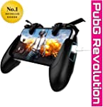 Lanos™ Mobile Game Controller Sensitive Shoot and Aim Keys L1R1 and Gamepad for PUBG/Knives Out/Rules of Survival, Mobile...