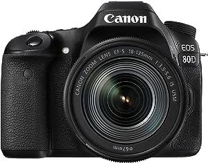 Canon EOS 80D - Reflex Numérique + EF-S 18-135 mm F/3.5-5.6 IS USM - Noir