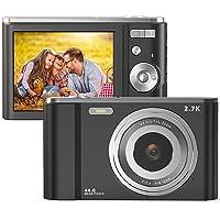 FamBrow Digitalkamera 2,88 Zoll 44 Megapixel 2.7K Mini Digitalkameras mit 16X Digitalzoom…