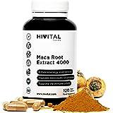 Maca Peruviana 4000 mg | 120 capsule | Radice di Maca che migliora l'energia, la resistenza, le prestazioni atletiche, la mem