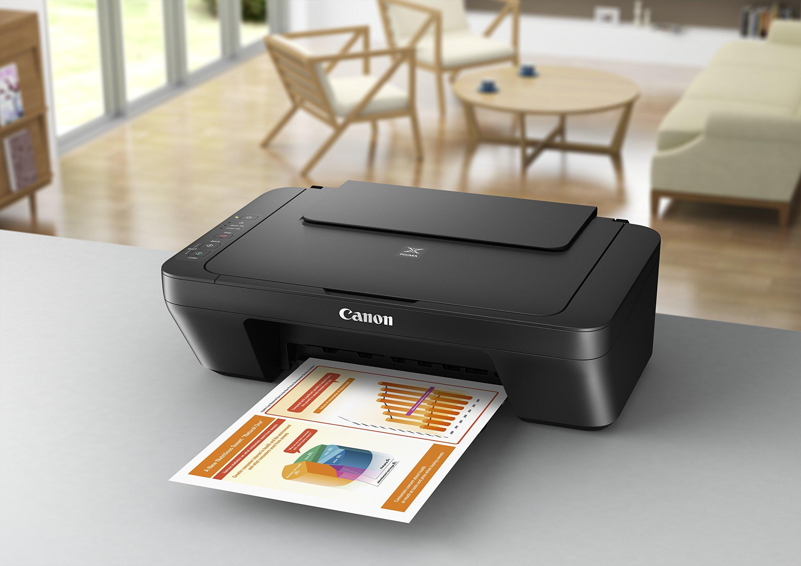 Canon PIXMA MG2555S Inyecci/ón de Tinta 4800 x 600 dpi A4 Impresora multifunci/ón Inyecci/ón de Tinta, Impresi/ón a Color, 4800 x 600 dpi, Copia a Color, A4, Negro