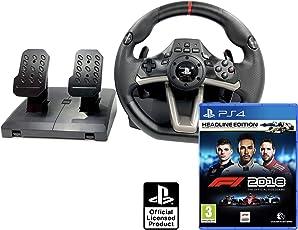 PS4 Lenkrad und Pedale Orig. Licensed PlayStation 4 RWA Apex + Formula 1 2018 Headline Edition - F1 2018