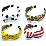VRFASHIONCITY Hairband/Headband Solid Fabric Pattern Korean Style Fabric Knotted With Tape Plastic Hairband/Headband for Wome