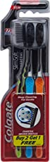 Colgate Slim Soft Charcoal Toothbrush (Buy 2 Get 1 Free)