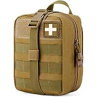 Gonex Molle Medizinische Tasche EMT Erste-Hilfe-Tasche Rip-Away IFAK Tactical Utility Pouch für Outdoor-Aktivitäten…
