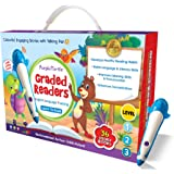 Purple Turtle Graded Reader Box (36 Books in a box) Level 1,2 & 3 with Talking Pen
