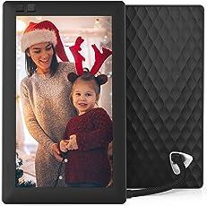 Nixplay Seed WiFi Digital Photo Frame, 7-inch (Black, W07A)