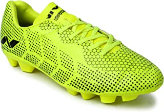 Nivia Encounter 3.0 Football Shoes, Size 11 (Yellow)