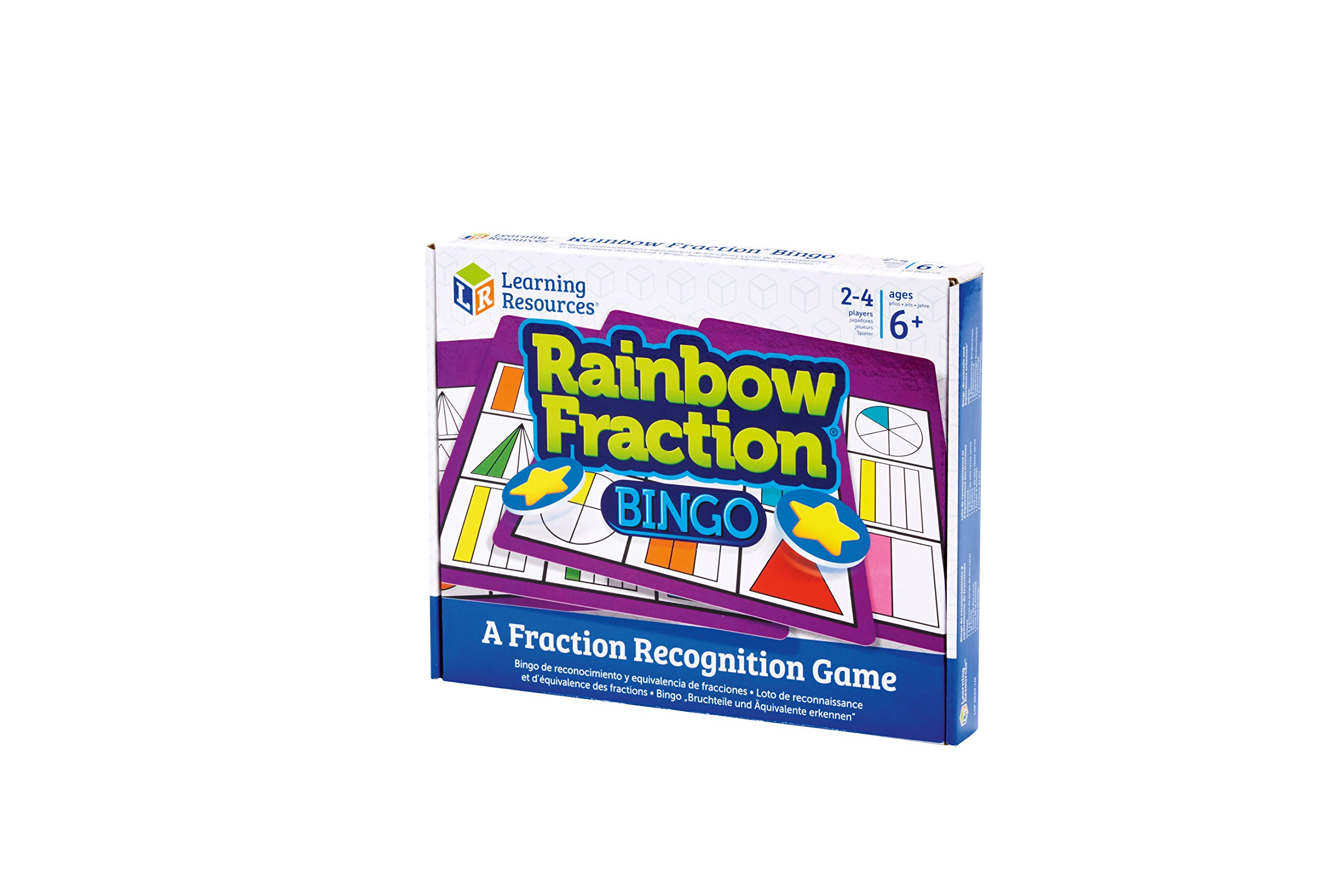 Learning-Resources-Bruchteil-Bingo-in-Regenbogenfarben