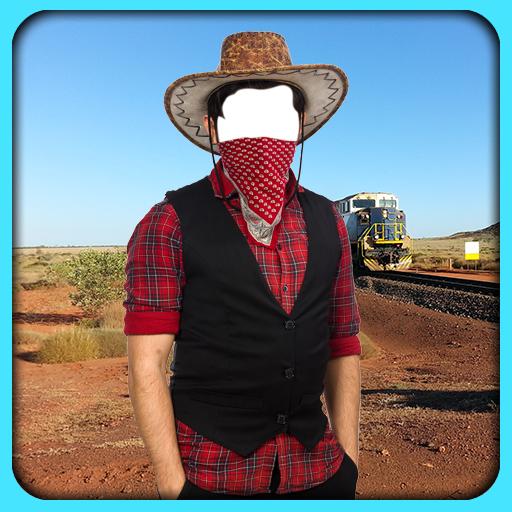 Cowboy-Aufnahme