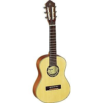 Ortega R121-1/4 Konzertgitarre in 1/4 Größe natur im seidenmatten Finish mit hochwertigem Gigbag