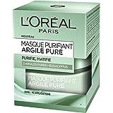 L'Oréal Paris – Masque Purifiant Pour Le Visage – Argile Pure – 50 ml