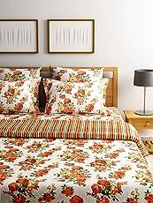 Turu Cotton AC Quilt & Comforter Set : 1 AC Quilt/Comforter + 2 Cushion Covers + 2 Pillow Covers