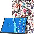 HoYiXi Custodia per Lenovo Tab P11 TB-J606F 11 Pollice 2020 Tablet PU Custodia Ultra Sottile Tri-Fold Custodia Protettiva Tab