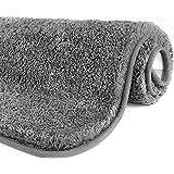 YIQI Alfombrilla de baño Absorbente de Agua Extra Gruesa Alfombra de baño de Microfibra Alfombra de baño Antideslizante Alfom
