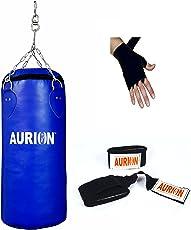 Aurion SRFUNFILLED24-1 Punching Bag, 24-inch (Blue)