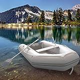 Jago Schlauchboot mit Holzboden, 270x152cm/474 kg   Ruderboot, Paddelboot, Gummiboot, Sportboot, Angelboot