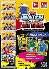Topps Match Attax Sammelkarten 2018/19 1 Multipack - Deutsch