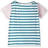 LOOK by crewcuts Camiseta con manga de lentejuelas para niñas