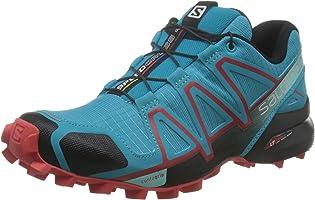 Salomon Damen Speedcross 4 Traillaufschuhe, Schwarz, 38 EU