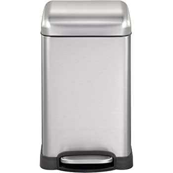Harima Rubbish Bin 12L   Single Recycling Bin for Kitchen, Bedroom