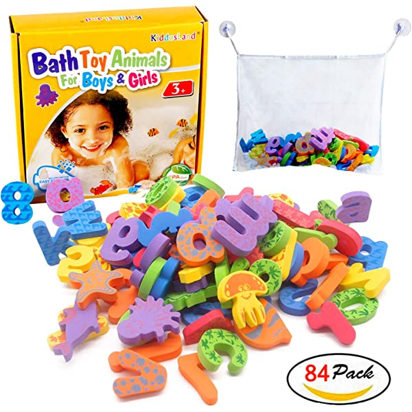 36 Pcs Bath Learn Letters /& Numbers Stick Floating Baby Bathroom Water Fun Toy