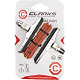 Clarks CP 513 XTR Upgraded Threaded Type Cycle Component + Extra Pads, 70 mm, Black/Red