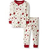 Moon and Back by Hanna Andersson Organic Holiday Family Matching 2 Piece Pajama Set Infant-and-Toddler-Pajama-Sets Unisex niñ