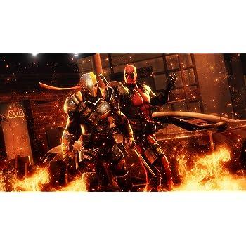 Posterhouzz Comics Deadpool Vs Deathstroke HD Wallpaper Background Fine Art Paper Print Poster