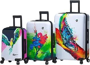Mia Toro Italy Prado-Exotic Life Hardside Spinner Luggage