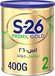 Wyeth Nutrition S26 Promil Gold Stage 2, 6-12 Months Premium Follow On Formula for Babies Tin 400g