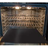 Toastabags OL-15-19 Heavy Duty Oven Base Liner Black 40 x 4 x 4 cm