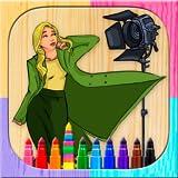 Pintar y colorear top models