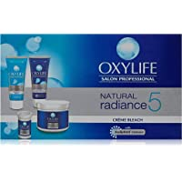 Oxylife Natural Radiance 5 Creme Bleach With Active Oxygen, 126 g