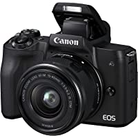 Canon EOS M50 mirrorless system camera (24.1 MP, rotatable and swiveling 7, 5cm (3 inch) ...
