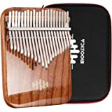 MOOZICA 21 touches Kalimba, Piano ¨¤ pouce professionnel Kalimba ¨¤ panneau unique en palissandre massif avec finition en laq