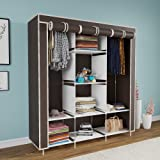Maison & Cuisine® 6+2 Layer Fancy and Portable Foldable Collapsible Closet/Cabinet (Need to Be Assembled) 126x42.5x166cm (881