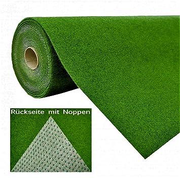 Unterschiedlich Rasenteppich Kunstrasen mit Noppen Grün nach Maß - Höhe: 7,5 mm  DM61