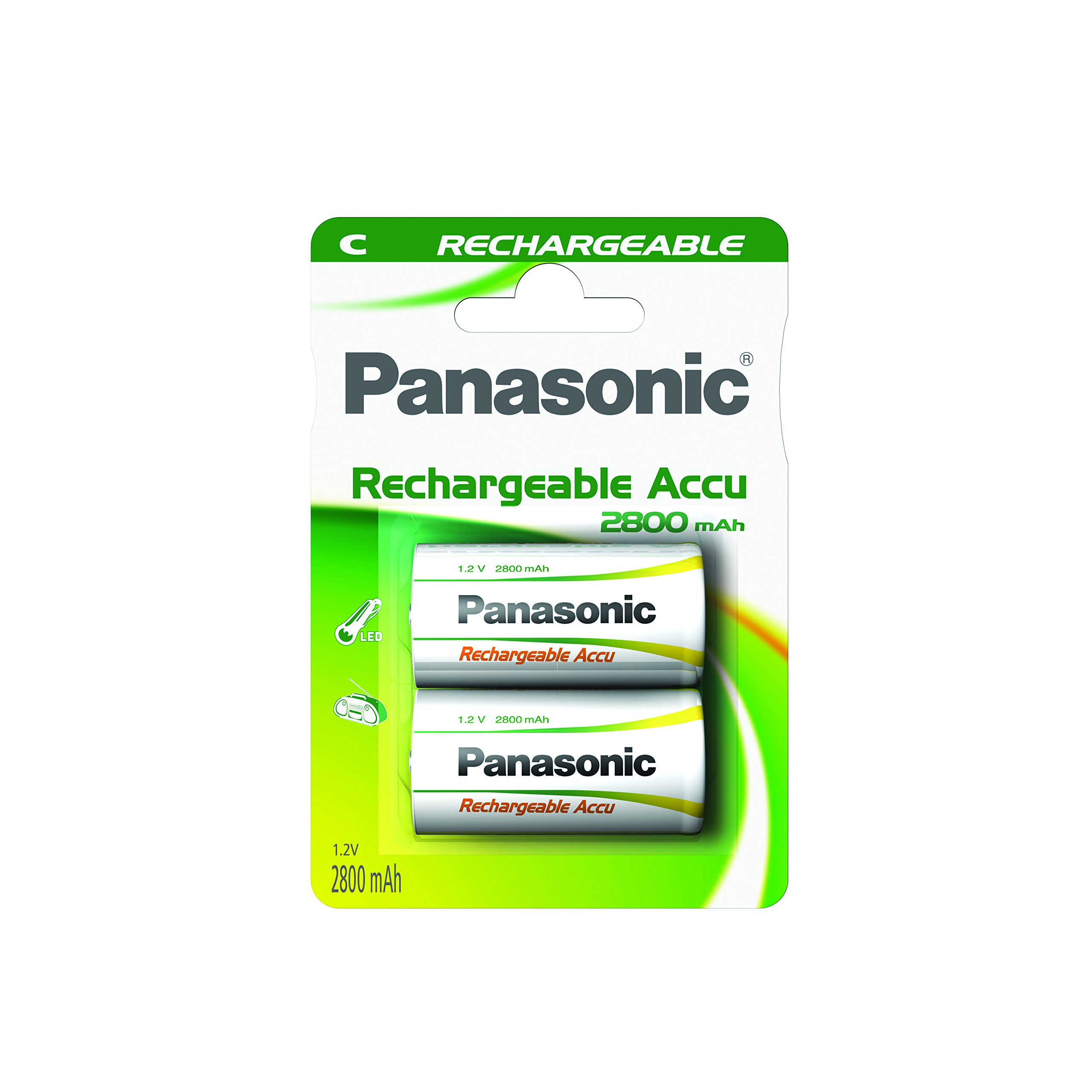 Panasonic Ready to Use Transistor Ricaricabile, Blister 1, Argento